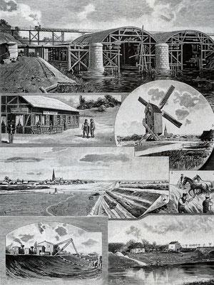 Eine Collage aus 1899