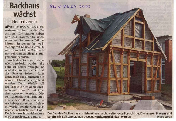 Ruhr Nachrichten vom 23.07.07
