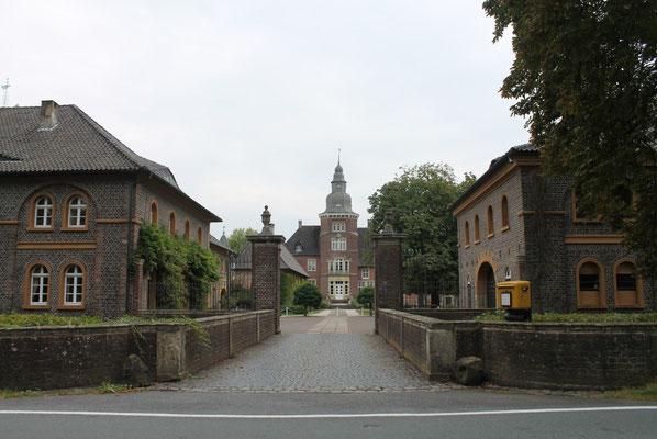 Aktuelle Ansicht vom Schloss Sandfort