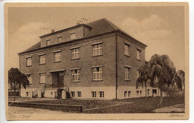 Leohaus nach der Erbauung 1929