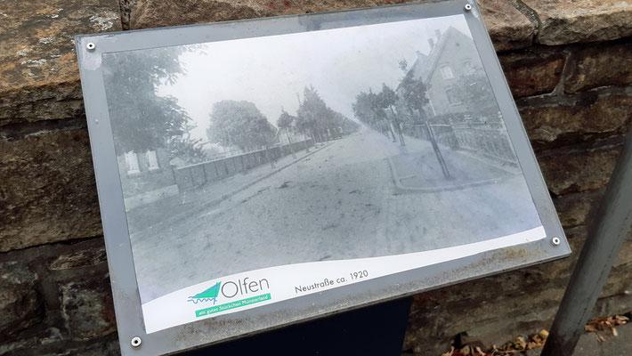 ca. 1920 - Neustraße Richtung Ortsausgang