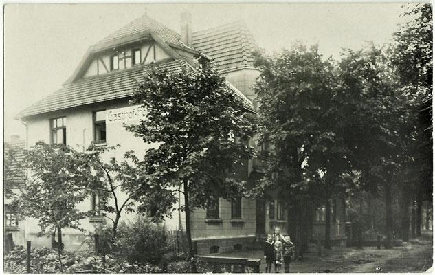 1930 - Forsthaus von Olfen gesehen