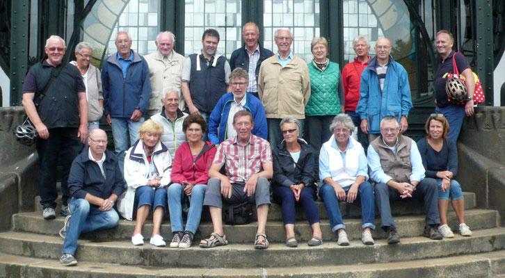 Gruppe im LWL-Museum Zeche Zollern