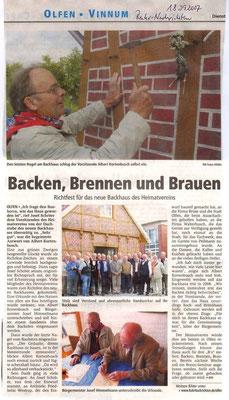 Ruhr Nachrichten vom 18.09.07