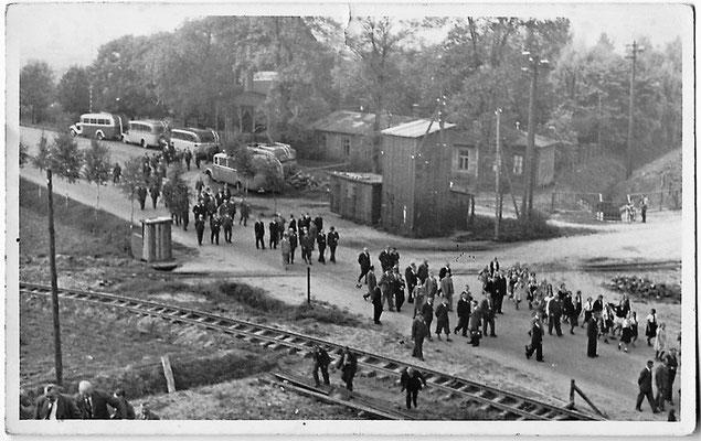 1935 - Hitler besucht die Baustelle Neue Fahrt des DEK und das Arbeitslager