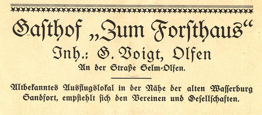 1931 - Werbung