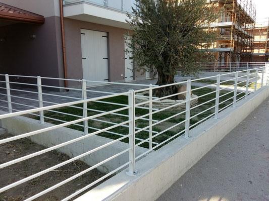 recinzioni complesso residenziale / costruzioni Luigi Milan Rovigo