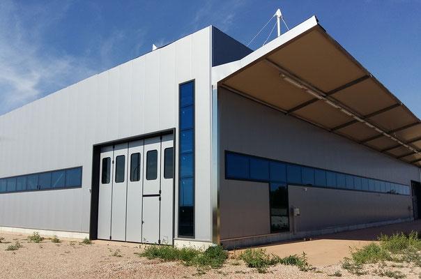 portoni industriali / Twincad nuova sede Costa di Rovigo