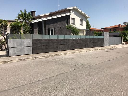 lavorazioni particolari su villa privata