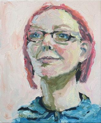 """""""Yvonne 2"""", Öl auf Leinwand, 33 x 40 cm, 2007"""