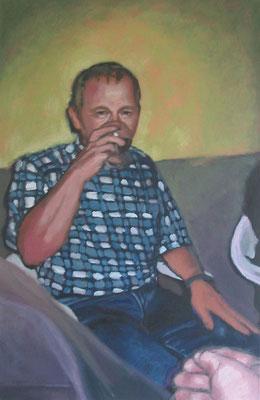 """Schmidt"" , Öl auf Leinwand, 65 x 100 cm, 2006"
