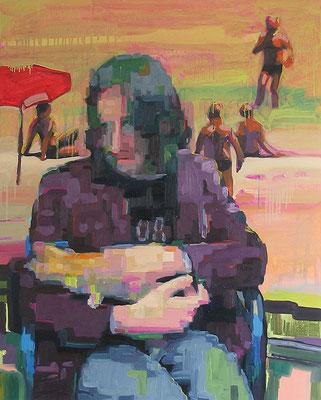 """clj-2004-j"" , Öl auf Leinwand, 80 x 100 cm, 2006"