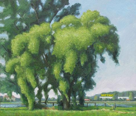 """""""Metro"""", Öl auf Leinwand, 70 x 60 cm, 2007"""