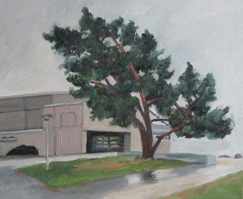 """""""Kiefer Vobue Fürth"""", Öl auf Leinwand, 60 x 50 cm, 2013"""