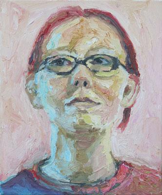 """""""Yvonne 1"""", Öl auf Leinwand, 33 x 40 cm, 2007"""