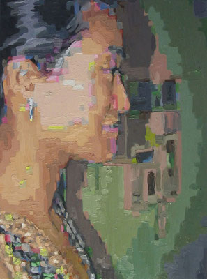 """46538773-L-1"" , Öl auf Leinwand, 45 x 60 cm, 2006"