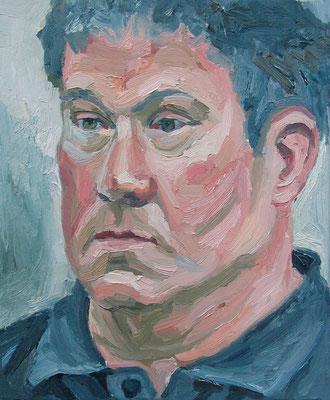"""""""Herr Winkler"""", Öl auf Leinwand, 33 x 40 cm, 2006"""
