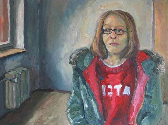 """""""Yvonne"""", Öl auf Leinwand, 80 x 60 cm, 2006"""
