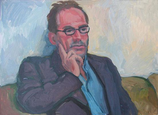 """Gerry"", Acryl auf Karton, 70 x 50 cm, 2005"