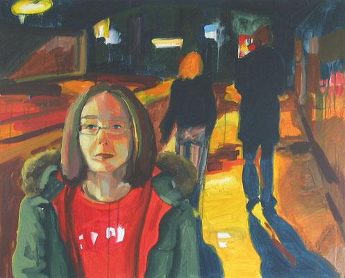 """""""Yvonne"""", Öl auf Leinwand, 100 x 80 cm, 2006"""