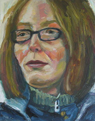 """""""Yvonne 4"""", Öl auf Leinwand, 55 x 70 cm, 2006"""
