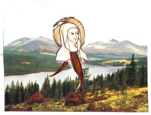 Marie aan de wandel