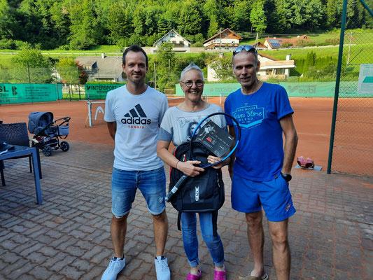 Damen Doppel: Pointner Helga/ Salcher Tina (nicht im Bild)