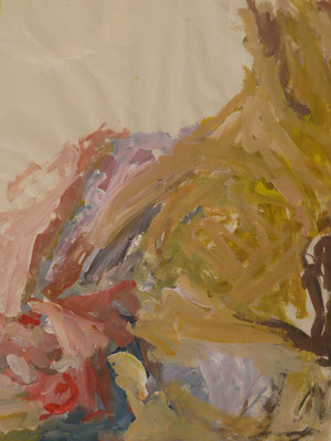 Skizze Mensch I  Acryl/Papier 2012