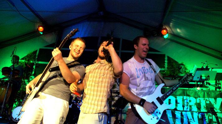 Alex, Ronny und Jonny live in Aktion
