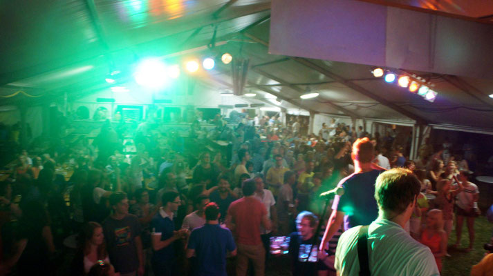Dirty Saints live auf dem Esslinger Weinfest