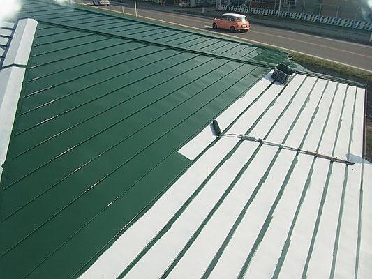 久慈,屋根,塗装