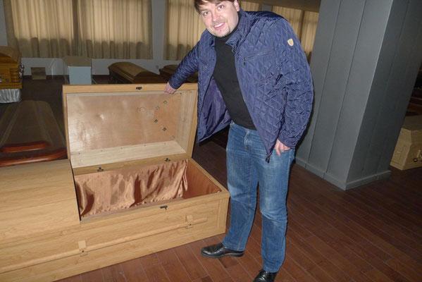 Holz - Särge aus Kiriholz