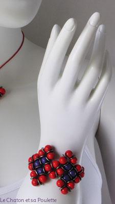 Bracelet Envol 2 - Le Chaton et sa Poulette