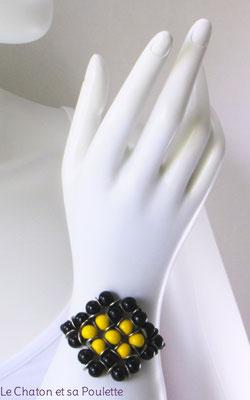 Bracelet Envol 17 - Le Chaton et sa Poulette