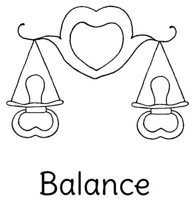 Dessin original Le Chaton et sa Poulette du signe astrologique Balance