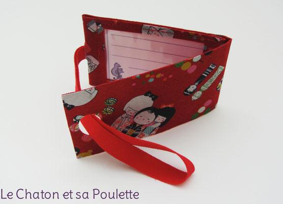 Porte-étiquette Les kokeshi  - Le Chaton et sa Poulette