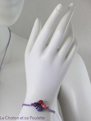 Bracelet Sensation 14 - Le Chaton et sa Poulette
