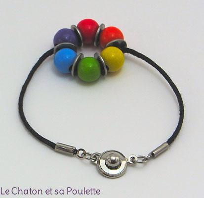Bracelet Sensation 3 - Le Chaton et sa Poulette