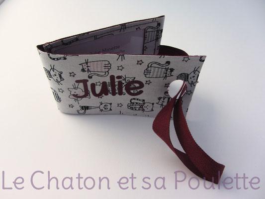 Porte-étiquette Des chats et des étoiles - Le Chaton et sa Poulette