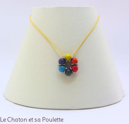 Collier Sensation 38 - Le Chaton et sa Poulette