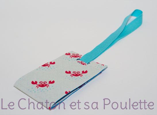Porte-étiquette Ptits crabes  - Le Chaton et sa Poulette