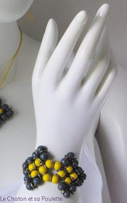 Bracelet Envol 8 - Le Chaton et sa Poulette