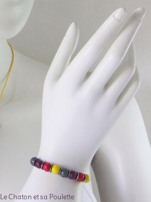 Bracelet Sensation 17 - Le Chaton et sa Poulette