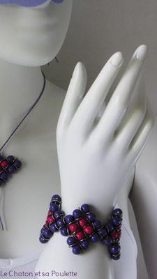 Bracelet Envol 11 - Le Chaton et sa Poulette