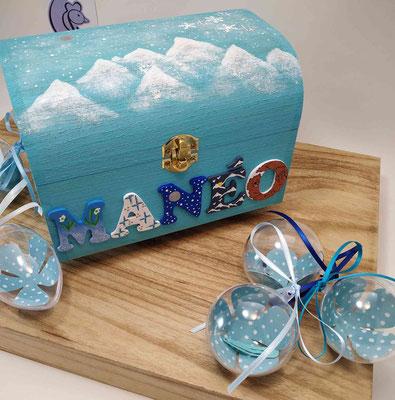 Coffret souvenirs de naissance de MANEO