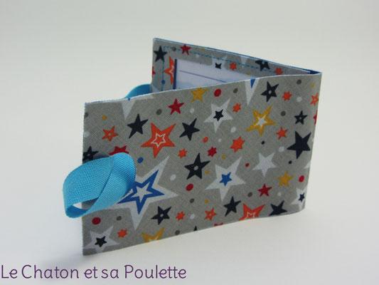 Porte-étiquette Zetwal fond gris  - Le Chaton et sa Poulette
