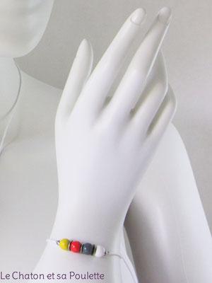 Bracelet Sensation 11 - Le Chaton et sa Poulette