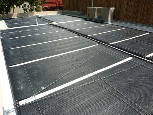 Paneles solares para piscina