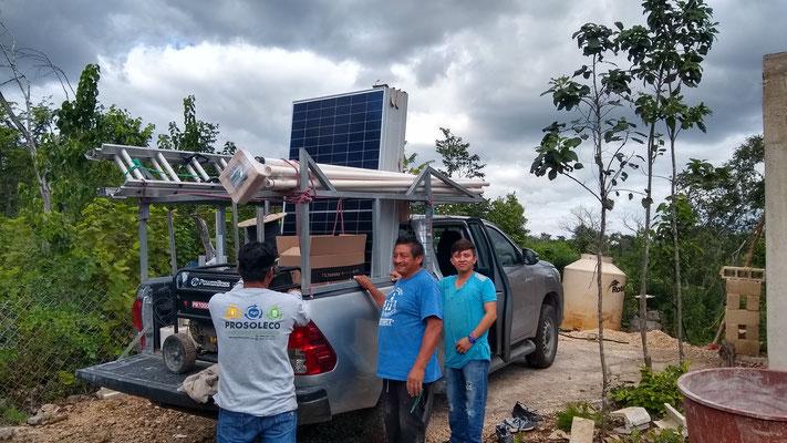 Proyecto Bombeo de agua solar