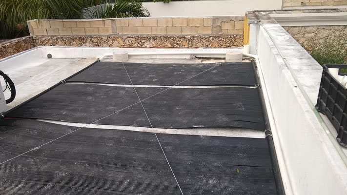 Paneles solares para Alberca